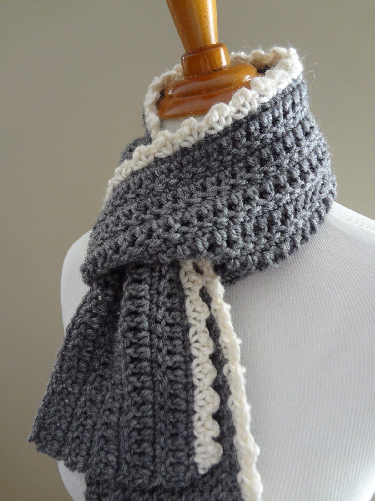 Crochet Patterns Free Free Crochet Patterningrid Scarf Crochet Pinterest Crochet