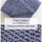 Crochet Patterns Free Free Heirloom Ba Blanket Crochet Pattern Crochet Pinterest