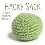 Crochet Patterns Free How To Make A Hacky Sack Shiny Happy World