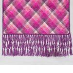 Crochet Pooling Free Pattern Fabulous Planned Pooling Wrap Red Heart