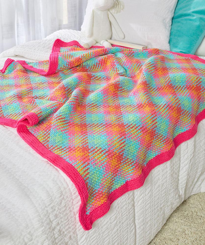 Crochet Pooling Free Pattern Free Crochet Pattern For A Happy Planned Pooling Blanket Crochet