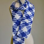 Crochet Pooling Free Pattern Free Pattern Friday Color Pooling Argyle Scarf Universal Yarn