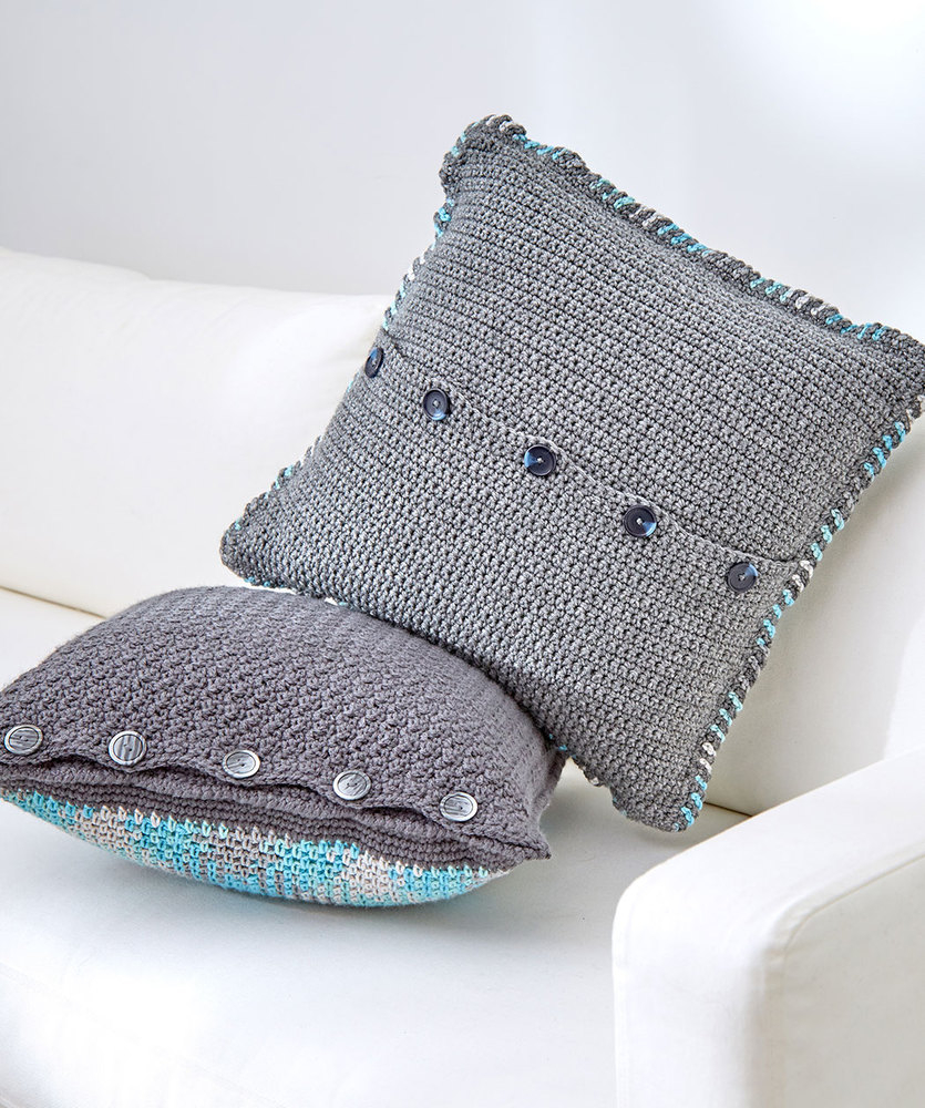 Crochet Pooling Free Pattern Planned Pooling Argyle Pillow Red Heart