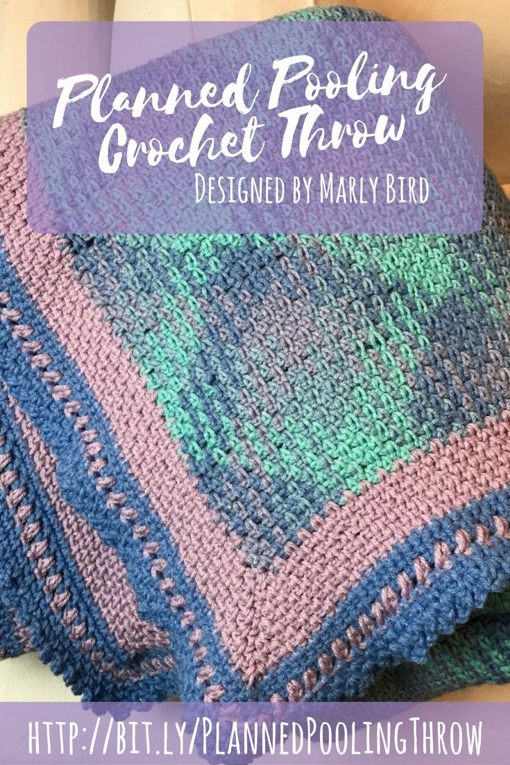 Crochet Pooling Free Pattern Planned Pooling Crochet Throw Free Pattern Crotching Pinterest