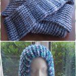 Crochet Scoodie Pattern Crochet Hoodie Scarf Scoodie Free Patterns
