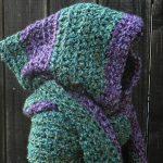 Crochet Scoodie Pattern Easy Crochet Pattern Hooded Scarf Scoodie Hoodie Crochet Etsy
