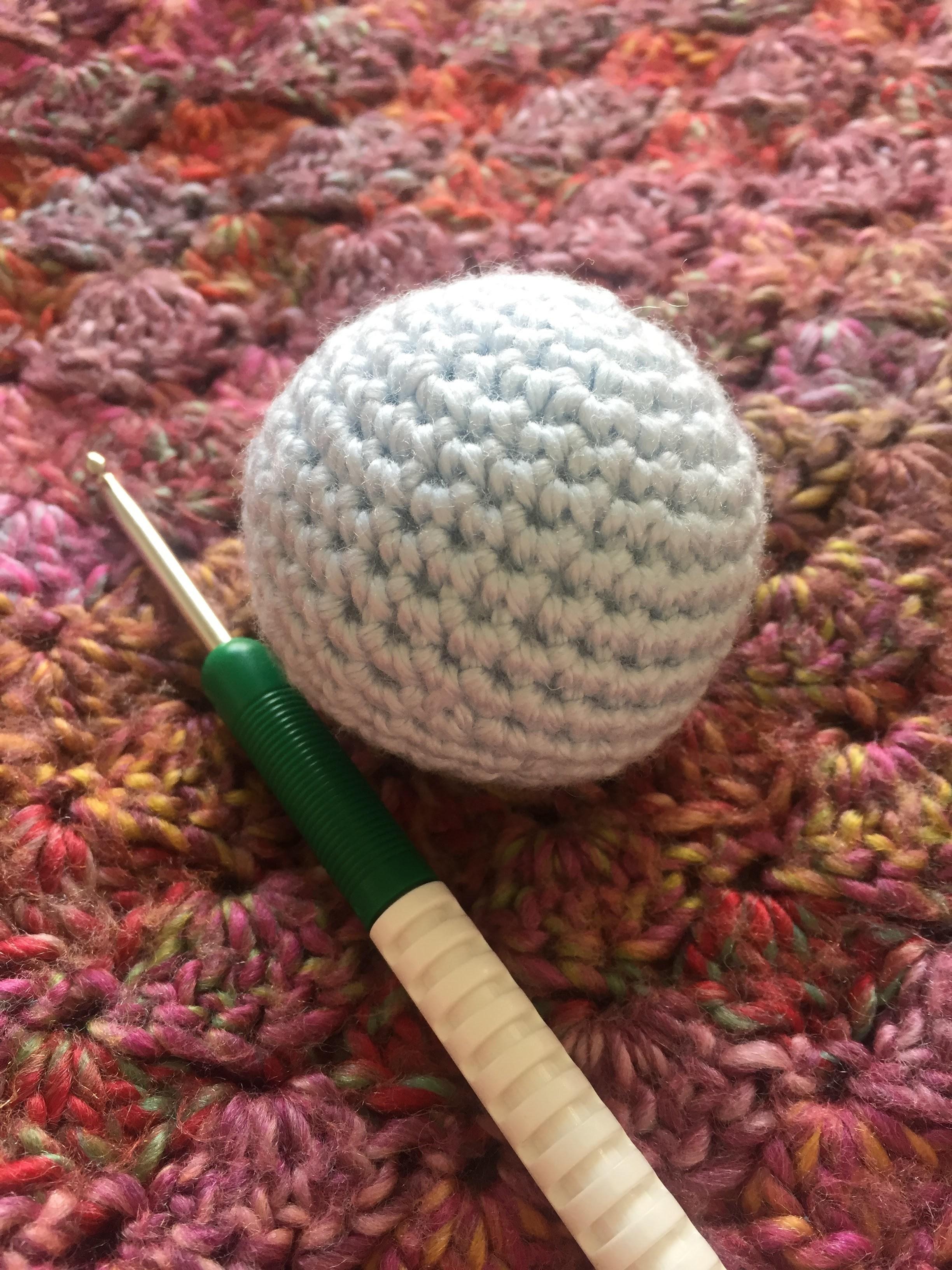 Crochet Sphere How To Make Crochet Sphere Pam Op