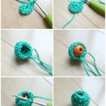 Crochet Sphere How To Make Mini Christmas Tree With Crochet Ornaments All About Ami