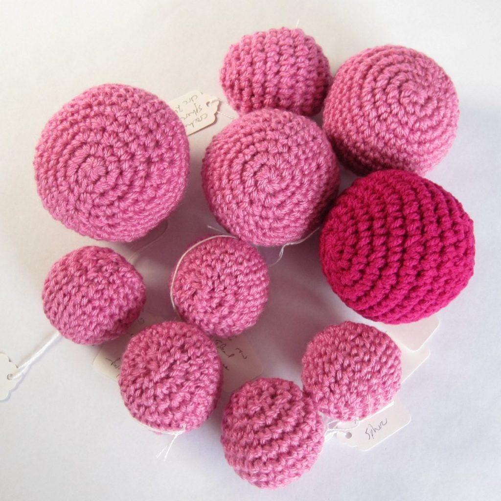 Crochet Sphere How To Make Single Crochet Shaping 2 Spheres Revedreams