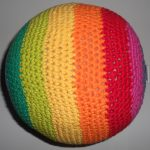 Crochet Sphere Pattern Crochet Rainbow Ball Pattern 3rd Grade Waldorf Pinterest