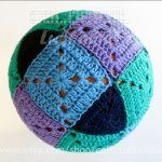 Crochet Sphere Pattern Crochet Square And Triangle Ball Pattern Rhombicuboctahedron Etsy