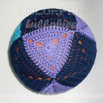 Crochet Sphere Pattern Crochet Triangle And Square Ball Pattern Cuboctahedron Ball Etsy