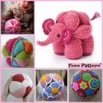 Crochet Sphere Pattern Free 10 Cute Crochet Balls Free Patterns Diy 4 Ever
