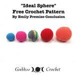 Crochet Sphere Pattern Free Amigurumi Ball Free Crochet Pattern Free Crochet Patterns