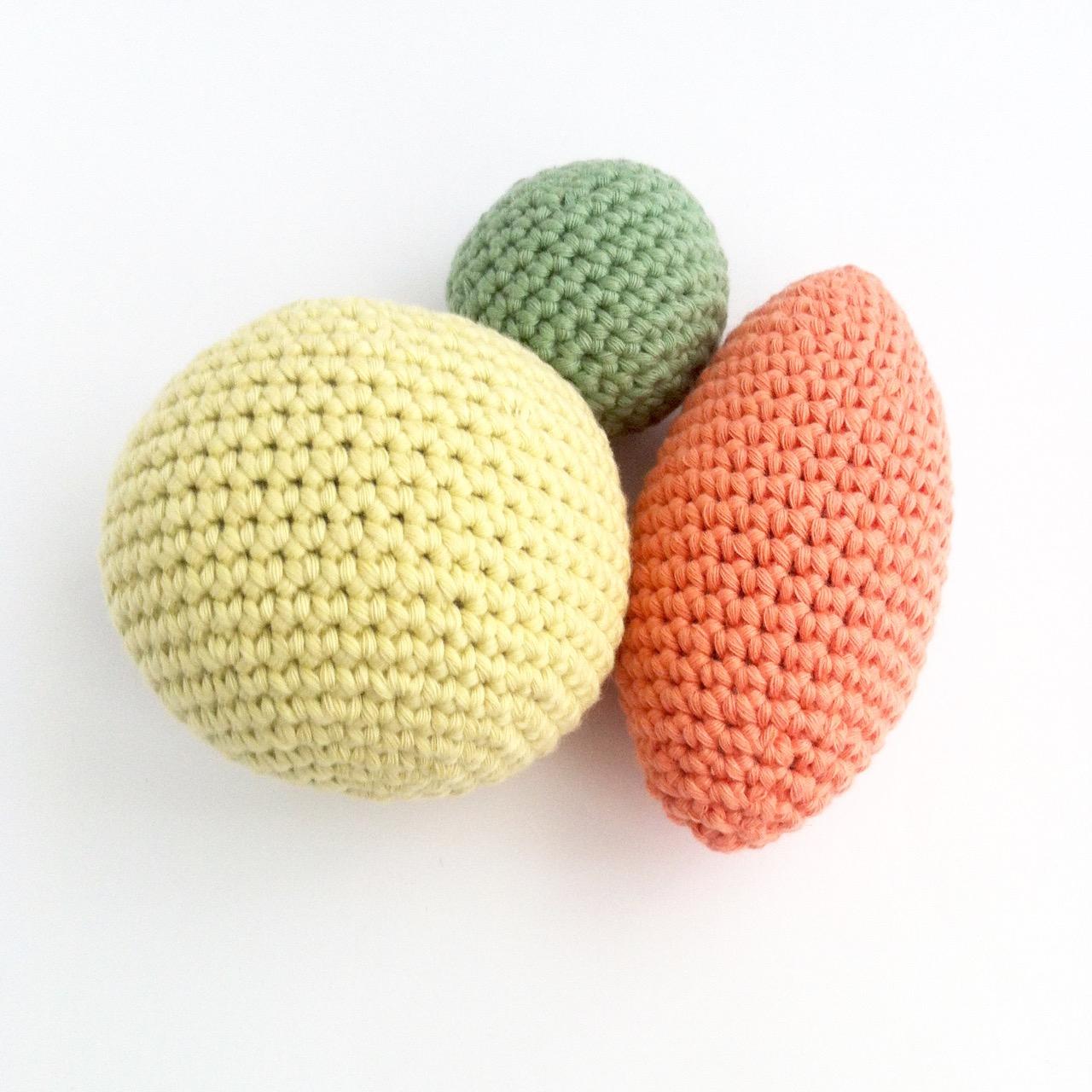 Crochet Sphere Pattern Free Crochet Ornament Pattern Little Conkers