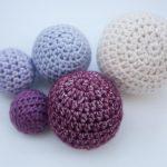 Crochet Sphere Pattern Free How To Crochet Balls Crochet This N That Pinterest Crochet