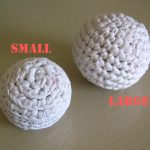 Crochet Sphere Pattern Free Pattern Cats Favorite Toy Crocheted Balls From A T Shirt