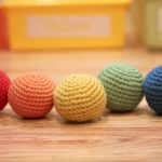Crochet Sphere Pattern Rainbow Ball Toss Repeat Crafter Me
