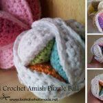 Crochet Sphere Tutorials Free Pattern Amish Puzzle Balls The Crochet Crowd