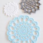 Crochet Trivets Free Pattern Aunt Aggies Trivets Blue Sky Fibers
