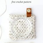 Crochet Trivets Free Pattern Clothesline Trivet Free Modern Crochet Pattern Using Rope
