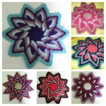 Crochet Trivets Free Pattern Ideal Delusions Kitchen Kolors Trivet