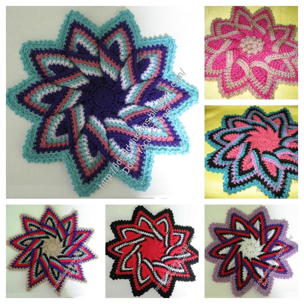 Crochet Trivets Free Pattern Ideal Delusions Kitchen Kolors Trivet