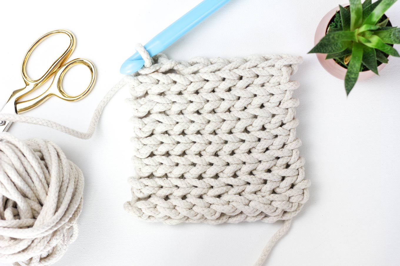 Crochet Trivets Free Pattern Rope Crochet Trivet Pattern Make Do Crew