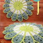 Crochet Trivets Hot Pads 10 The Best Hot Pad Holders Crochet Patterns Free Styles Idea