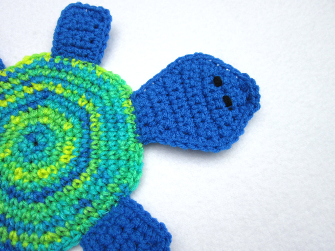 Crochet Trivets Hot Pads Crocheted Charlene Turtle Pot Holder Hot Pad Crochet Trivet