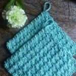 Crochet Trivets Hot Pads Crocheted Pot Holder Set Trivets Pot Holders Thick Pot Holders