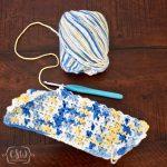 Crochet Trivets Hot Pads Easy Bobble Stitch Hot Pad Colorful Christine