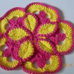 Crochet Trivets Hot Pads Flower Hot Pad Flower Trivet Crochet Hot Pad Crochet Etsy