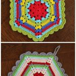 Crochet Trivets Hot Pads Free Pattern 113 Best Crochet Coasters Hotpads Trivets Images On Pinterest