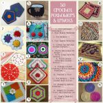 Crochet Trivets Hot Pads Free Pattern 50 Free Crochet Potholders And Trivets Patterns Oombawka Design