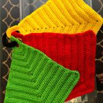 Crochet Trivets Hot Pads Free Pattern Crocheted Kitchen Hot Pads Free Crochet Pattern Dish Cloths