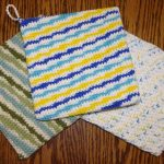 Crochet Trivets Hot Pads Free Pattern Double Thick Potholder Free Crochet Pattern Yay For Yarn