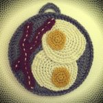 Crochet Trivets Hot Pads Free Pattern Free Eggs Bacon Potholder Crochet Pattern Book People Studio