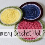 Crochet Trivets Hot Pads Summery Crochet Hot Pads Beginner Friendly Sewrella Youtube
