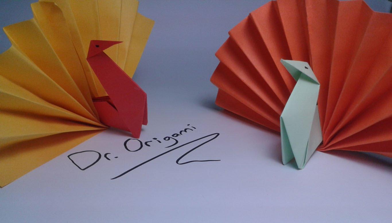 Diy Origami Easy Diy Origami Turkey Model 2 Easy Tutorial Youtube
