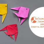 Diy Origami Easy Fish Diy Origami Easy Fish Diy Origami For Beginners And Kids