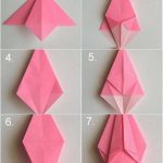 Diy Origami Easy Origami Easy Origami Rose Folding Instructions How To Make An Easy