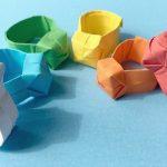 Diy Origami Easy Origami Ring Diy Easy Paper Ring Youtube