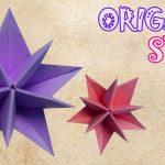 Diy Origami Easy Origami Star Tutorial Origami Easy Crafty Ideas Pinterest