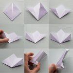 Diy Origami Flowers Diy Origami Flower Tutorial Hungry Heart