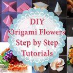Diy Origami Flowers Diy Origami Flowers Step Step Tutorials K4 Craft