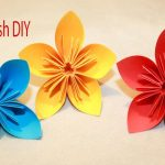 Diy Origami Flowers How To Make Origami Flowers Easy Origami For Beginners Youtube