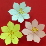 Diy Origami Flowers Make A Beautiful Paper Flower Easy Origami Flowers For Beginners