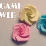 Diy Origami Flowers Origami Easy Origami Flower Tutorial