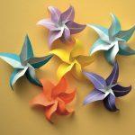 Diy Origami Flowers Star Flowers Stephies Board Pinterest Origami Origami
